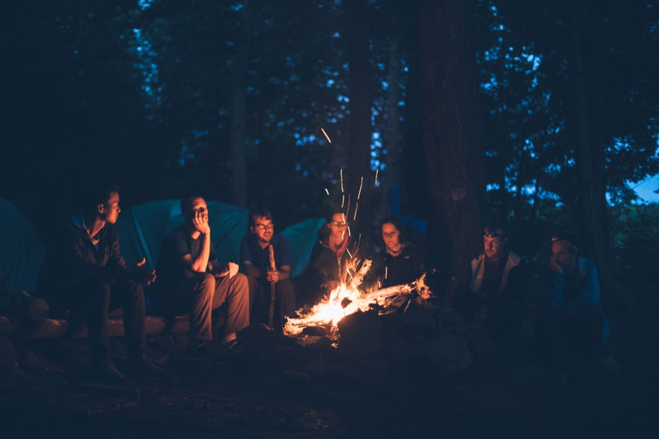 Millennials: Connected While Camping