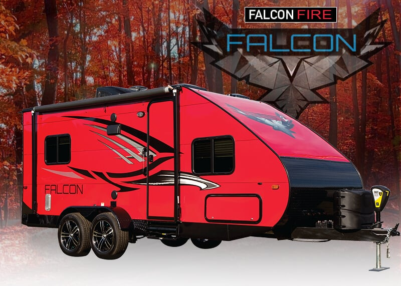 Falcon Fl 14 F 20 Ultralite Travel Trailers By Travel