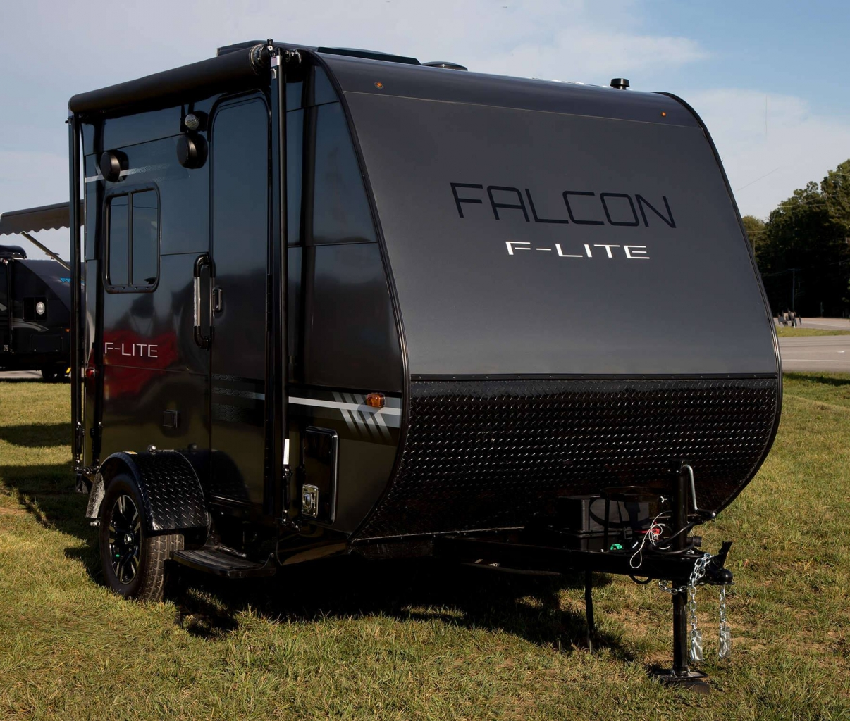 Travel Campers: Falcon FL-14, F-20 Ultralite Travel Trailers By Travel
