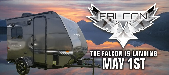 Falcon F-Lite Travel Trailers Coming Soon